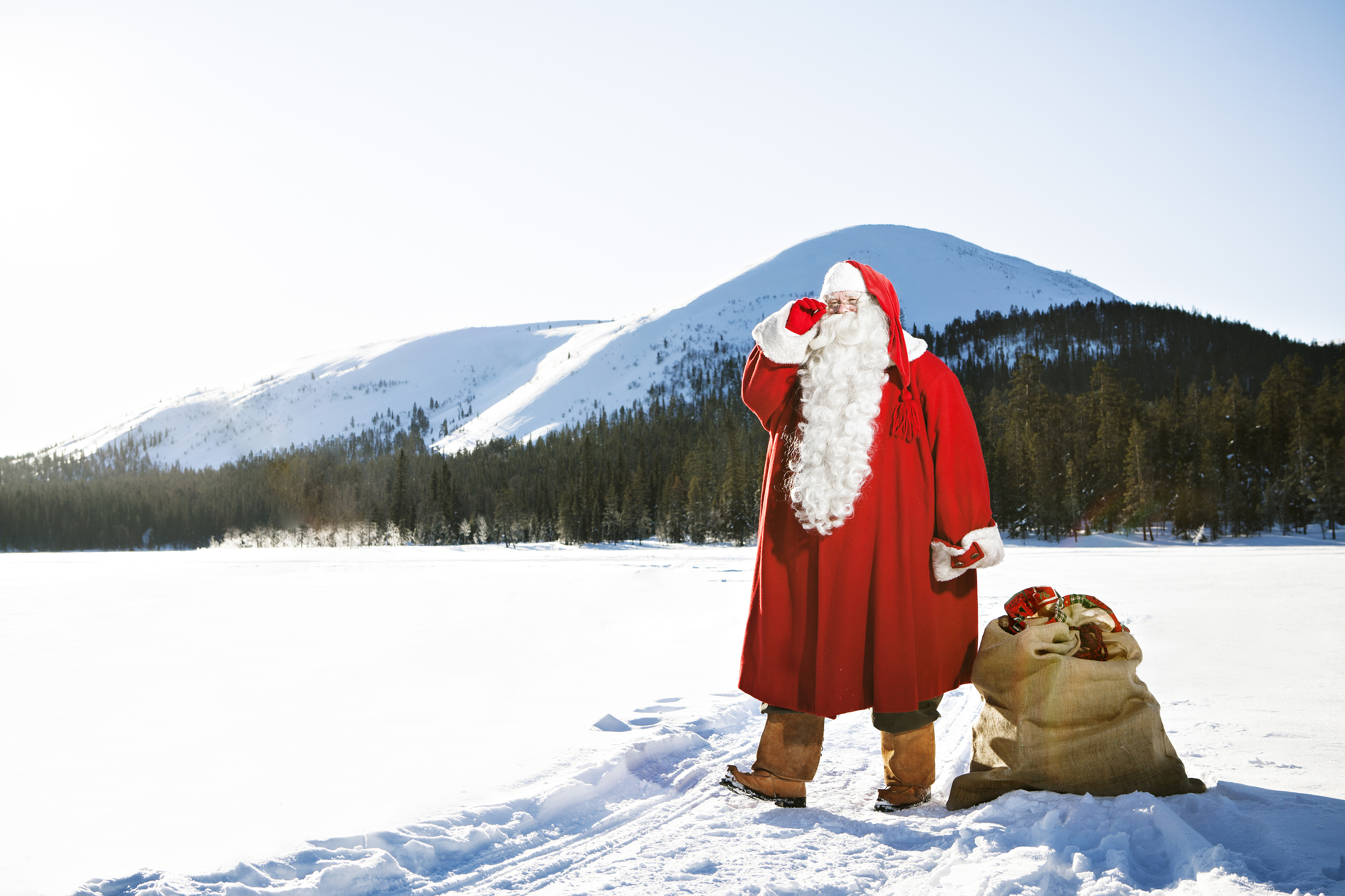 Win a trip to Lapland, the home of Santa