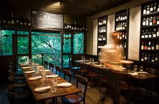 Interior at Bibo Wine Bar (Photograph: Anna Kucera)
