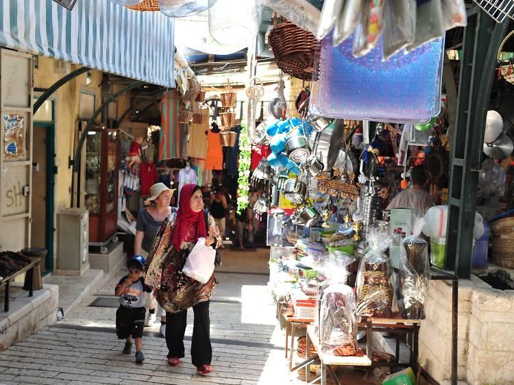 Старый рынок в Назарете