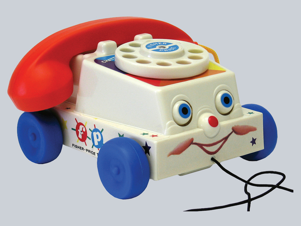Retro telephone by Fisher Price