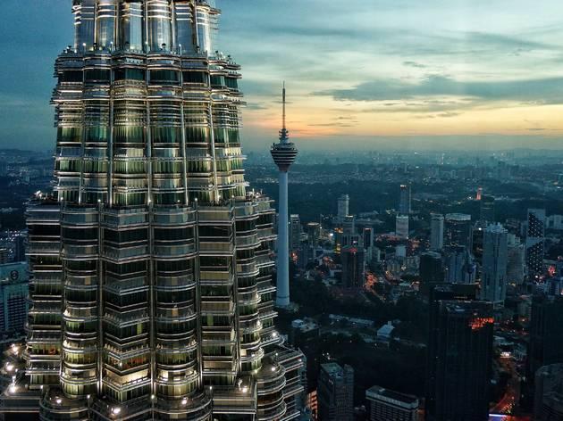 Kuala Lumpur, 36.8 points