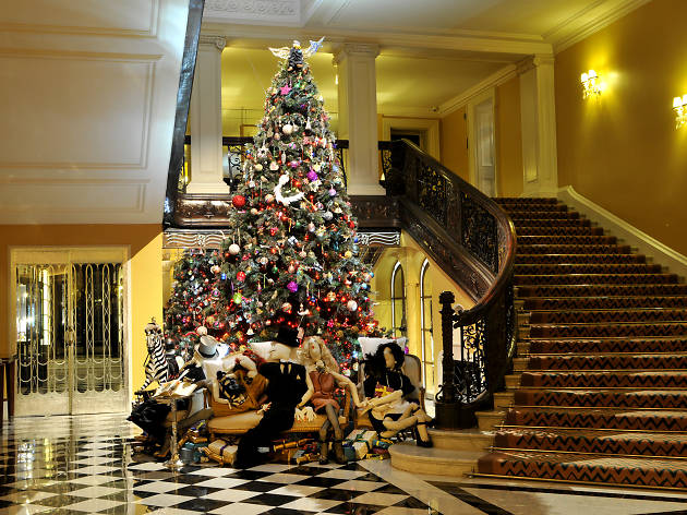 The most festive hotels in the city