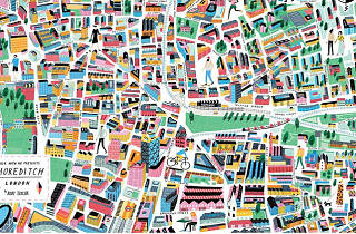 check out these cool london neighbourhood maps created by local artists