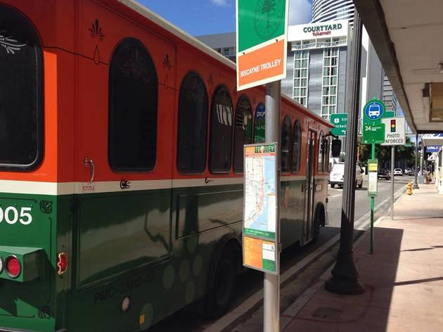 Miami trolley