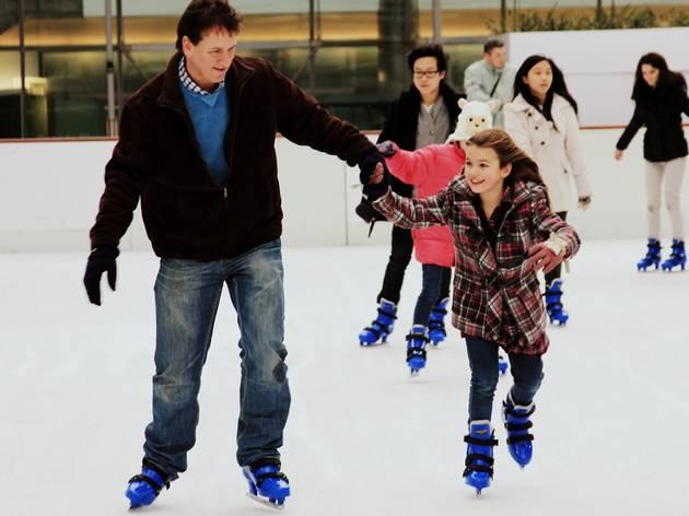 Generic ice skating