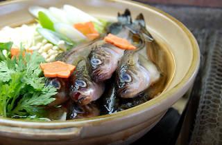 秋田料理八峰町『しょっつる鍋』