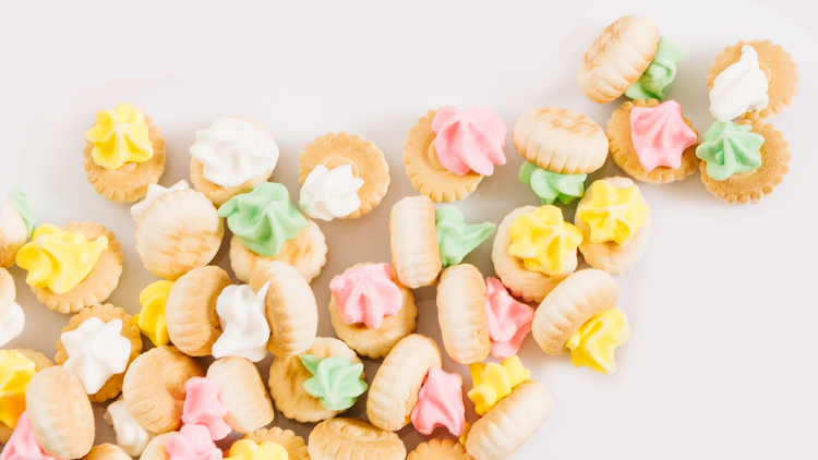 Iced Gem Biscuits, $1