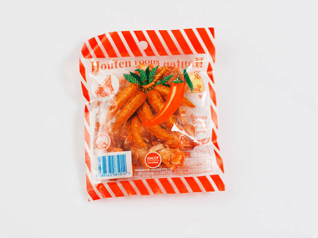 Houten Chilli Tapioca Chips, $0.50