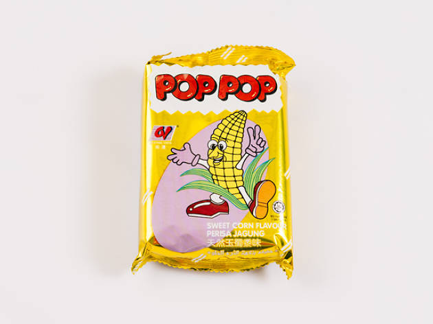 Pop Pop Sweet Corn Rolls, $1