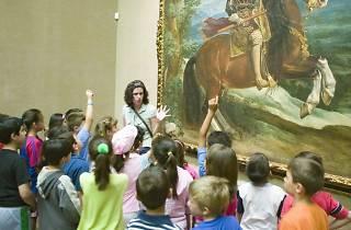 Museo del Prado con niños