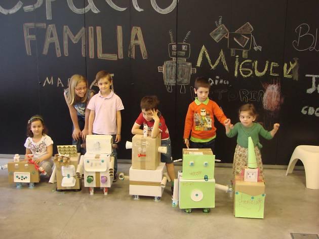 Espacio Fundacion Telefonica niños