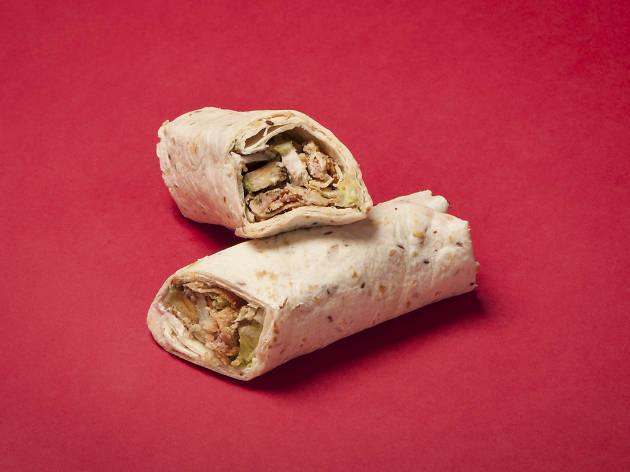 Crussh: Festive Turkey Cranberry & Herb Stuffing Wrap