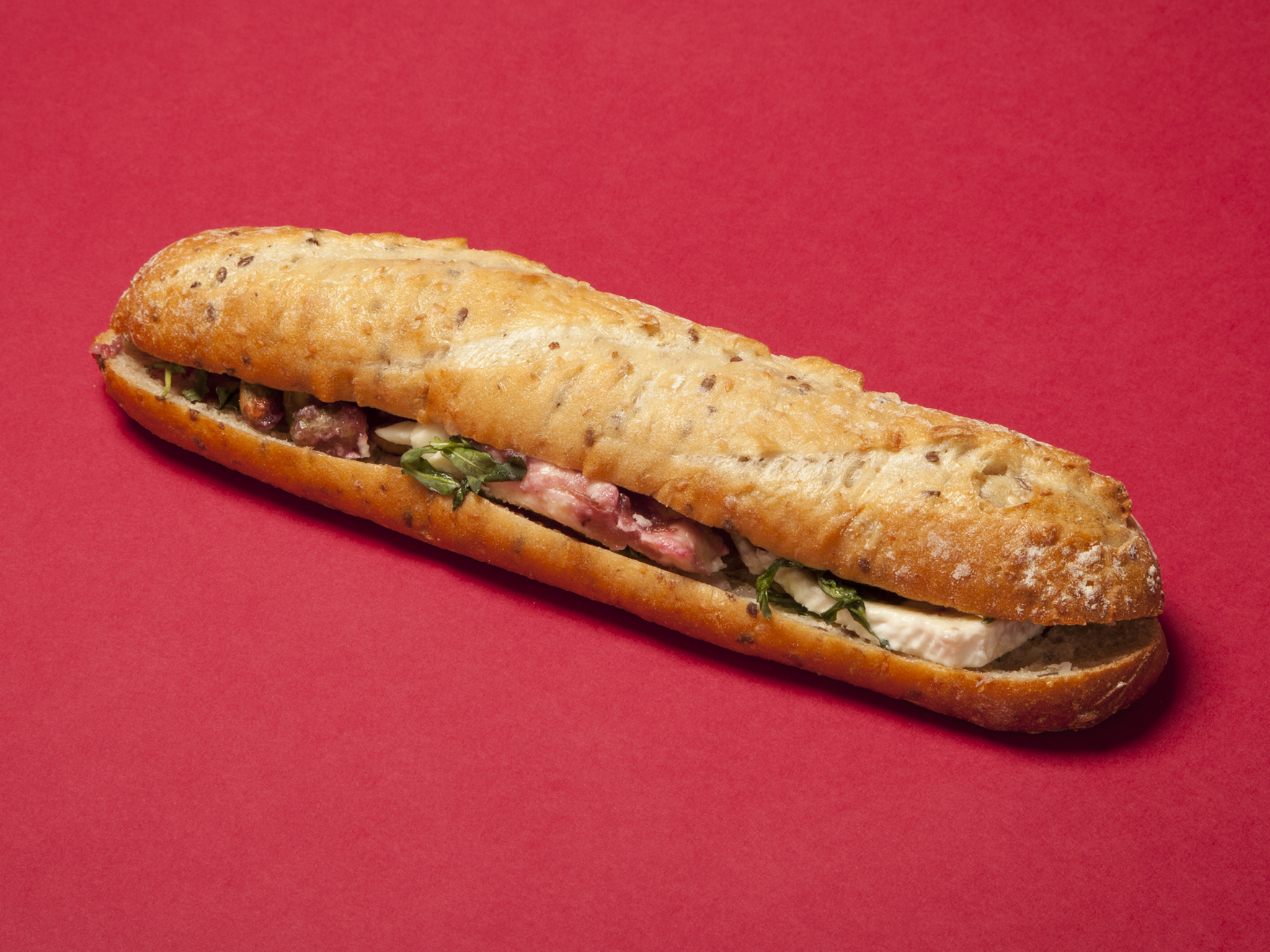Pret: Brie and Cranberry Baguette
