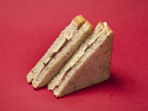 Sainsbury's: Brie and Cranberry Sandwich
