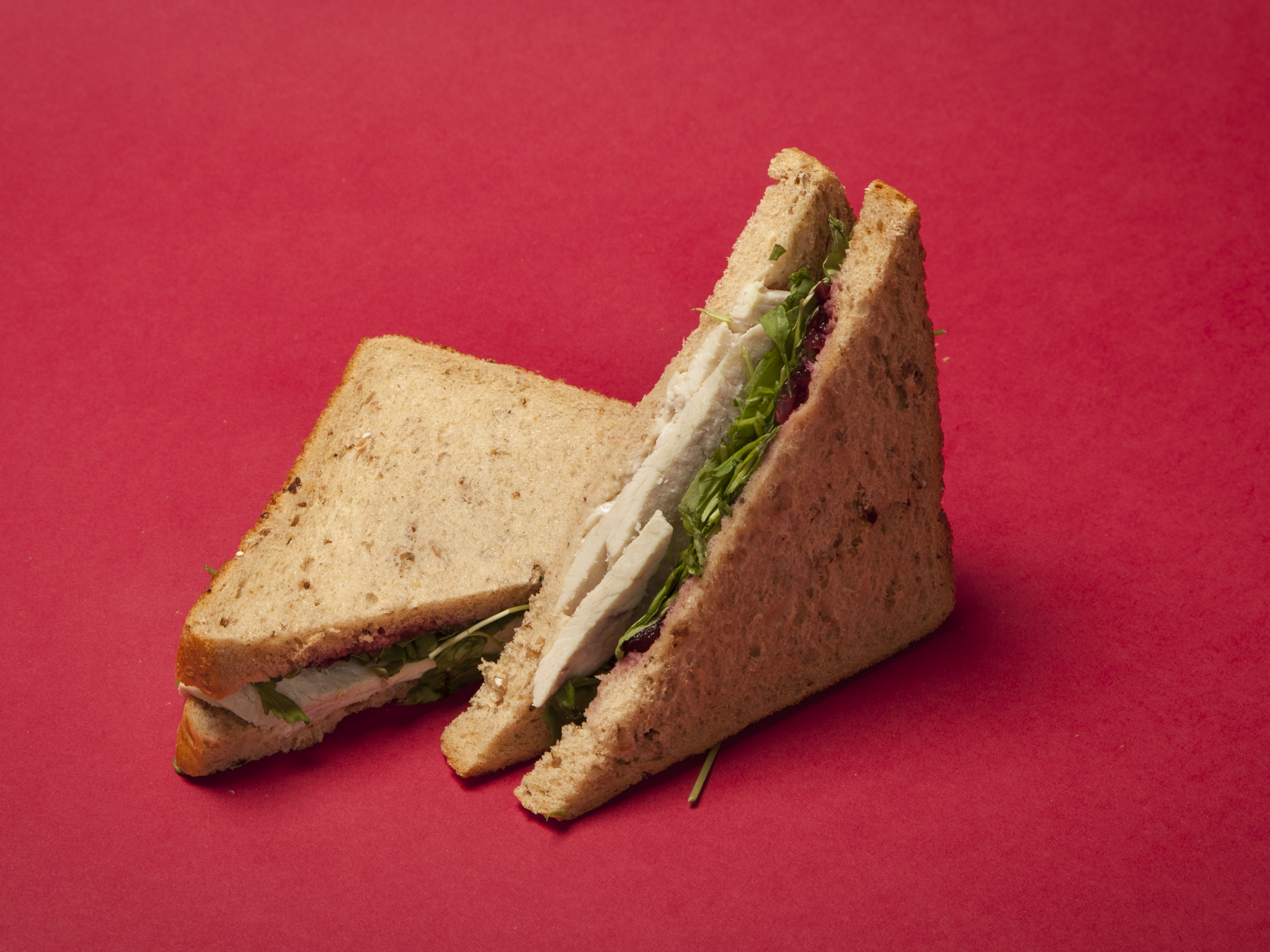 Eat: Butter-basted Turkey and Cranberry Sandwich