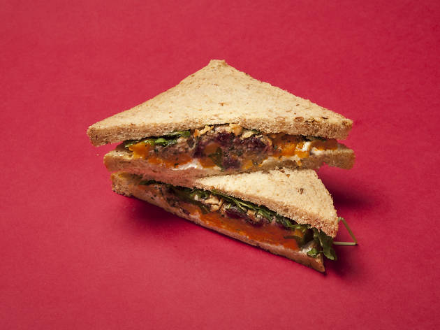 Pret: Veggie Christmas Lunch Sandwich