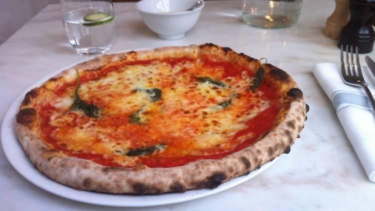 Best margherita pizzas in Paris