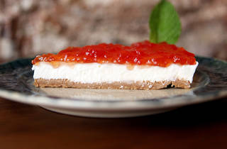 Cheesecake do Vicente
