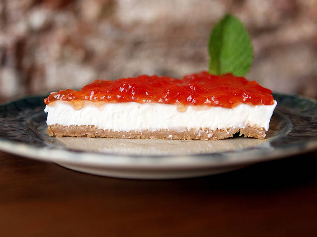 CHEESECAKE DE DOCE DE TOMATE do VICENTE