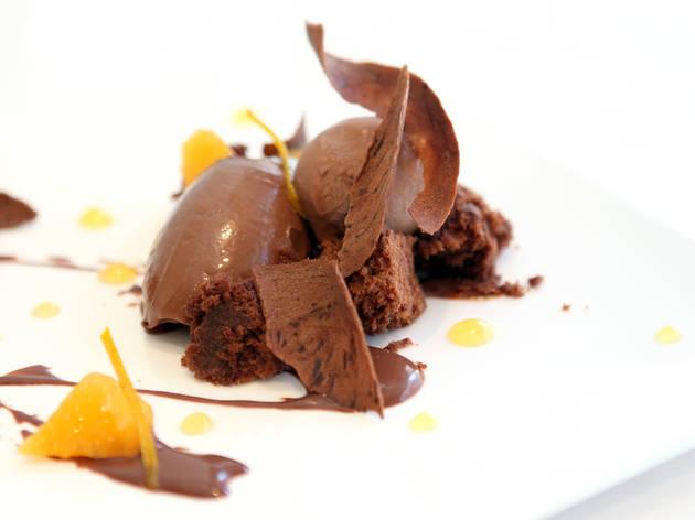 sobremesa de chocolate do lisboète
