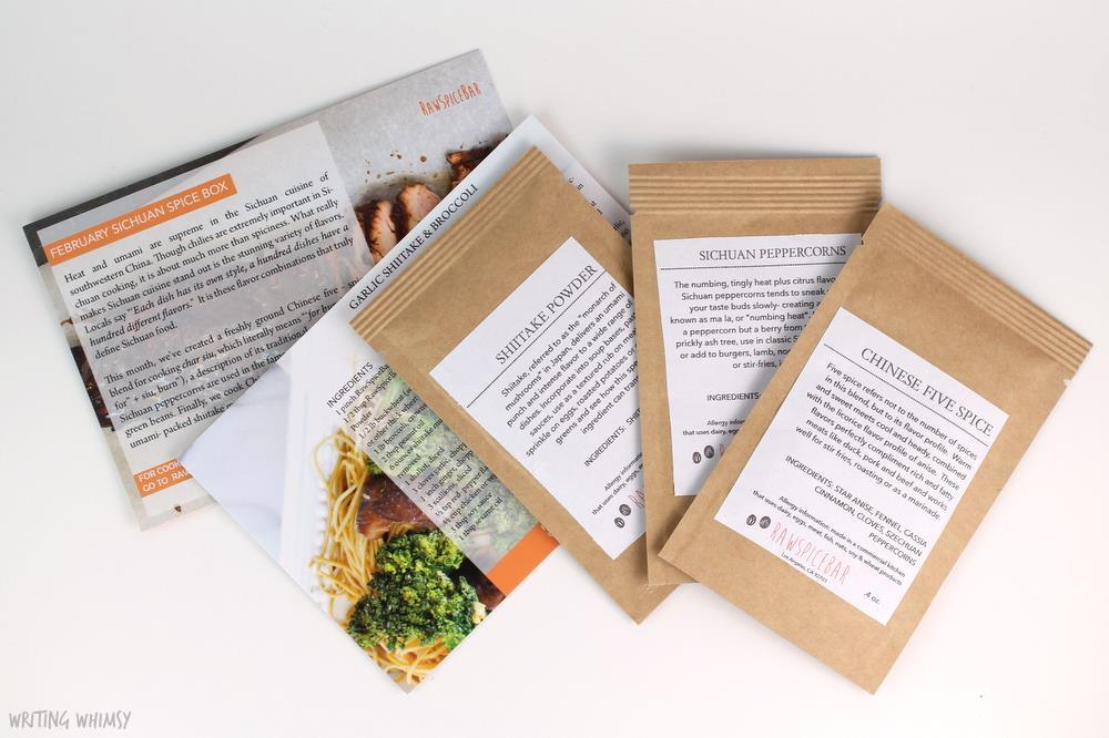 Raw Spice Bar Monthly Flavor Kit
