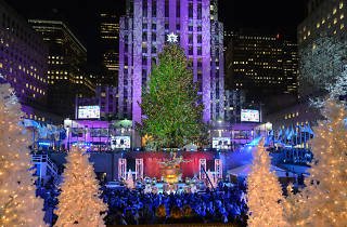 Here's who will be performing at this year's Rockefeller Tree Lighting