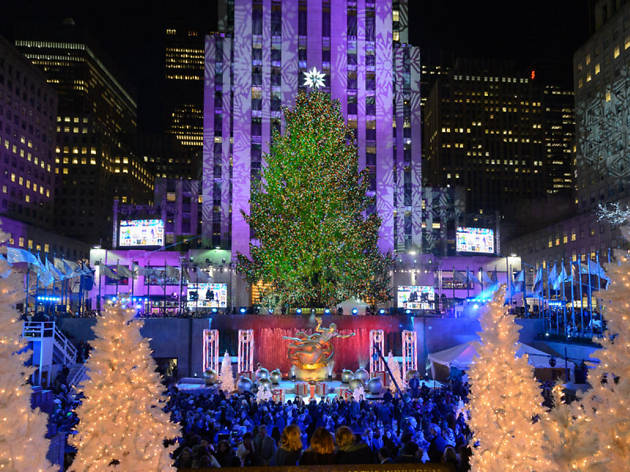 Christmas Tree Lighting 2017 Nyc