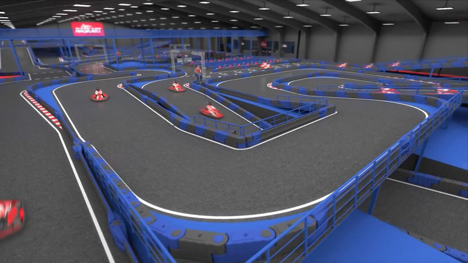 NASKART will open in CT as the largest indoor go-kart racing track in the world