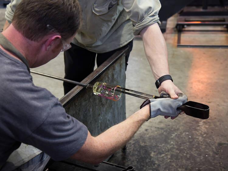 Canberra Glassworks Workshop
