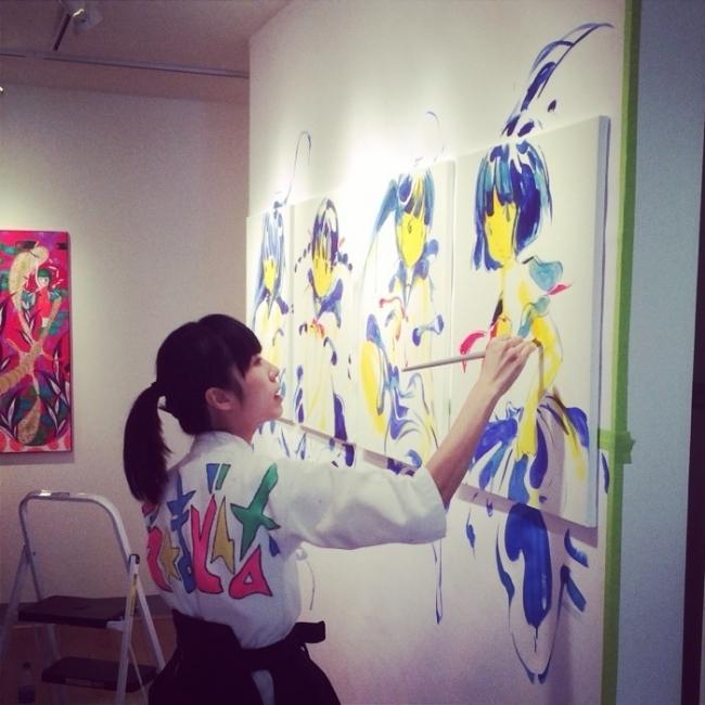 女子と渋谷の展覧会 from シブカル祭。