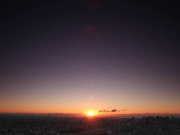 Sunshine 60 Observatory (Sky Circus) First Sunrise