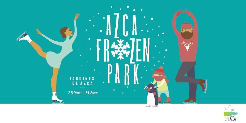 Azca y su parque de la Navidad