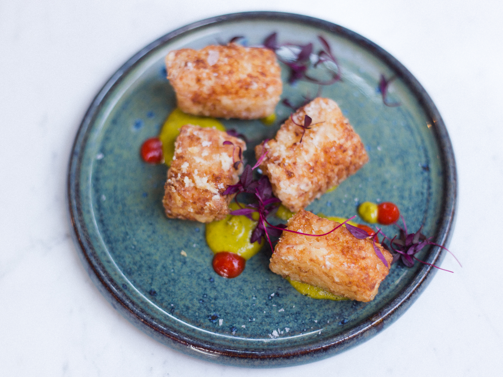 100 best dishes in london, chicama, tapioca marshmallow with ocapa sauce