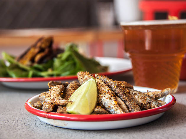 100 best dishes in london, bababoom, whitebait
