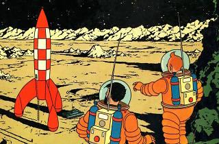 Tintin bat des records lors d'une vente Artcurial