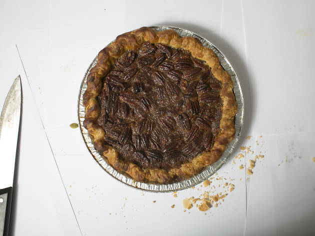 Chocolate bourbon pecan at Daly Pie