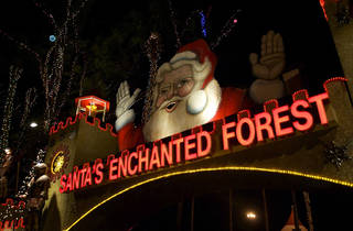 Santa's Enchanted Forest