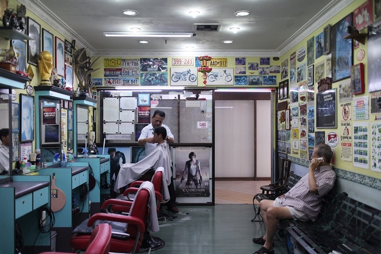 Red Panther, old-school barbers