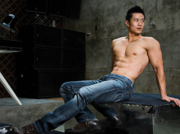 Asian American Porn Models - Jack Smith grabs hold of Asian-American gay porn entrepreneur, fitness model  and sex icon Peter Le – and has to be pried off him…