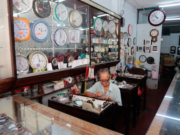 No time like the present: buy a vintage watch