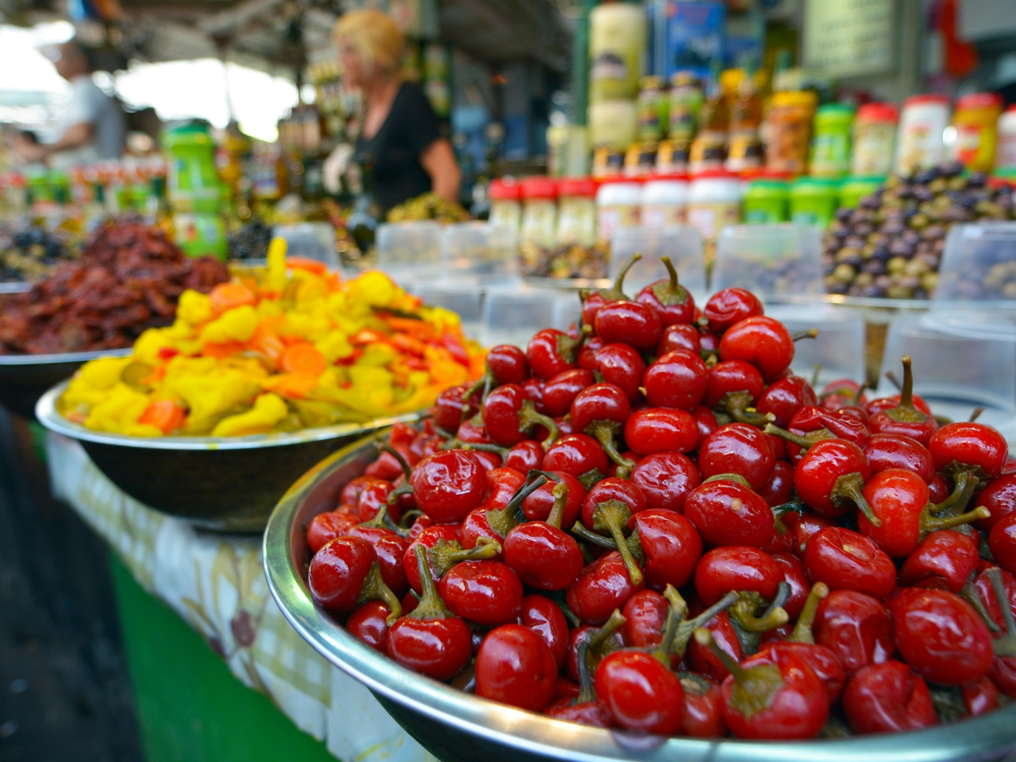 The foodie corner: the best of Shuk HaCarmel
