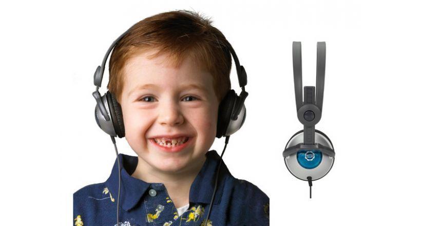 Auriculares para jóvenes amantes de la música