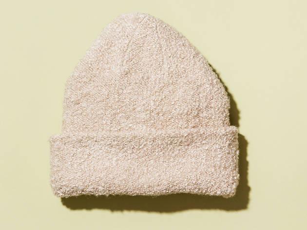 Cream beanie by Topman