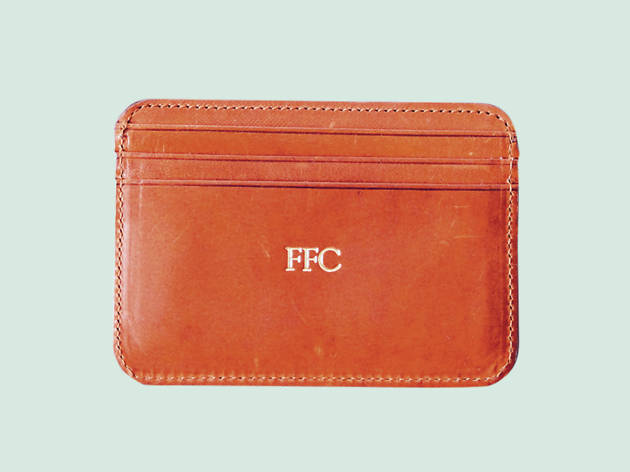 Christmas gift guide: personalised - Embossed accessories by La Portegna