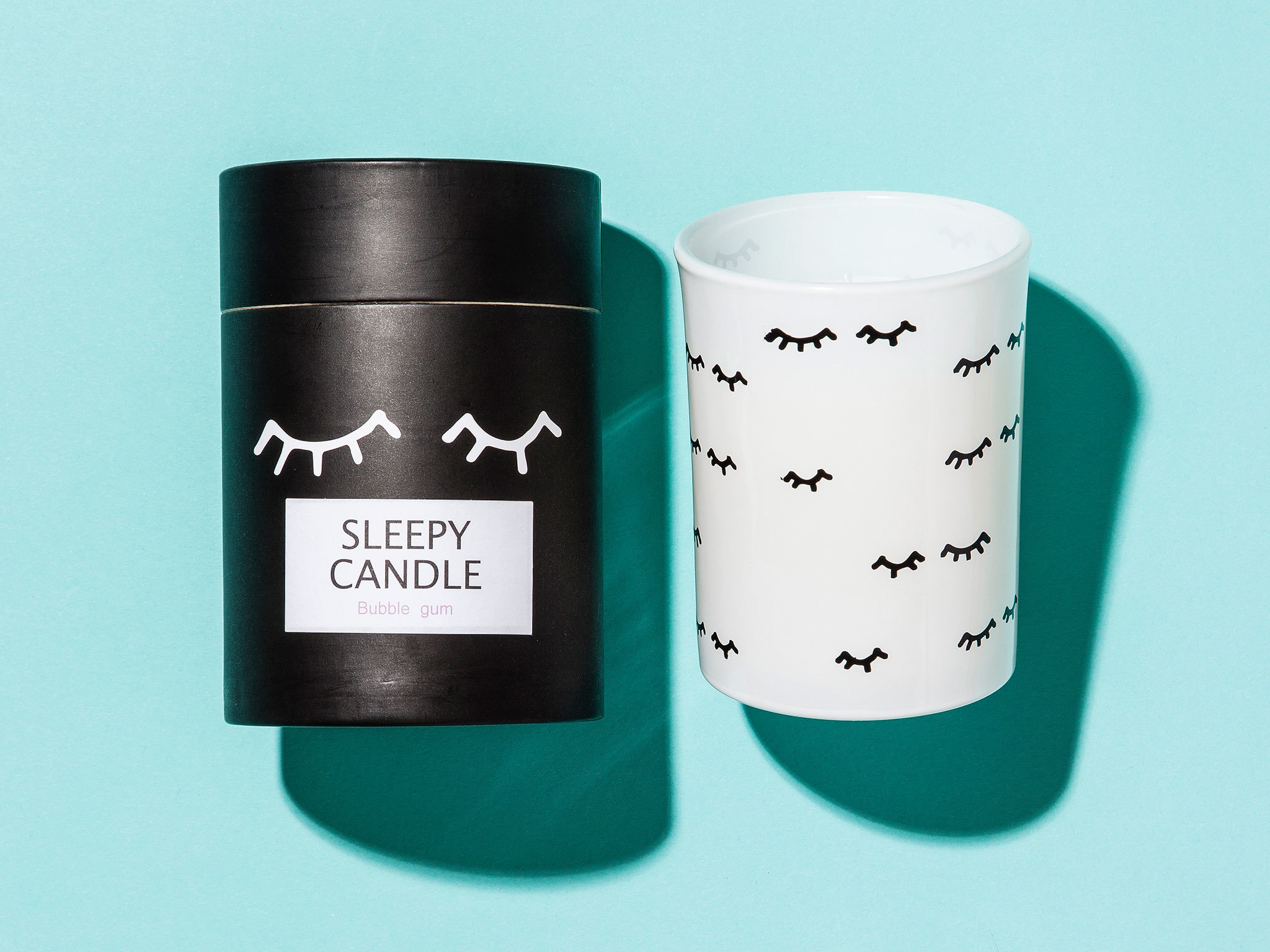Christmas gift guide: home - Anna sleepy candle by Monki