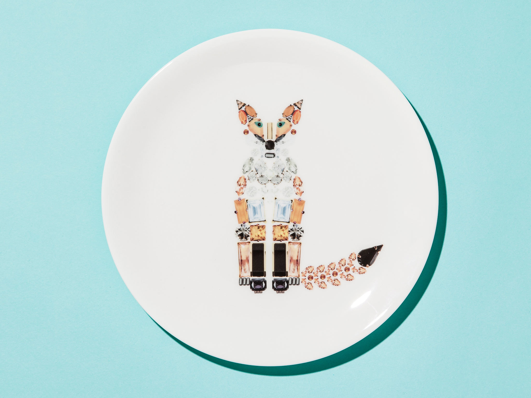 Christmas gift guide: home - Fox plate by Kim Sera