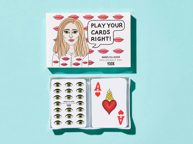 Playing cards by Angelica Hicks
