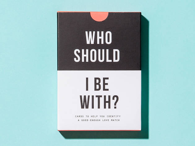 Christmas gift guide: home - Who should I be with? Cards by The School of Life