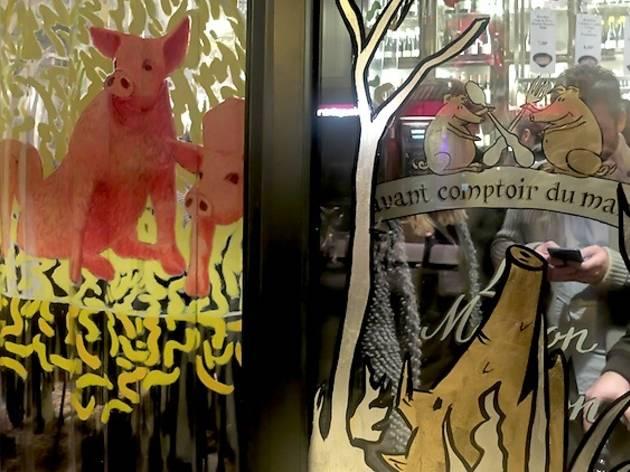L'avant comptoir des cochons (L'avant comptoir des cochons ©ZT)