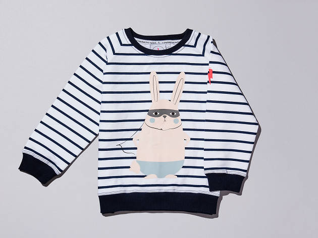 Breton bunny top by Scamp & Dude